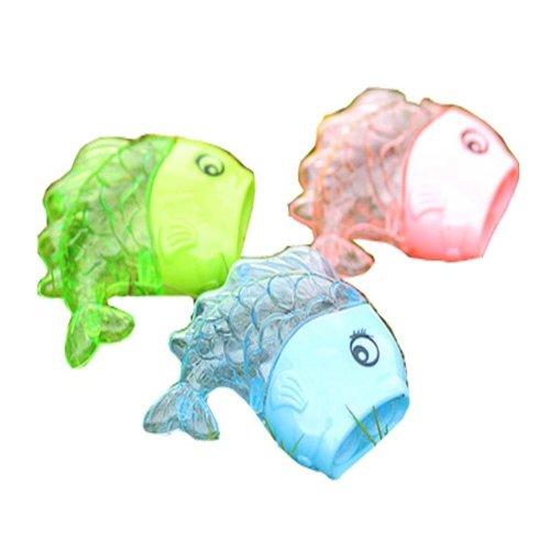 Set Of 4 Cartoon Fish Pencil Sharpener Pencil Tools,Random Color