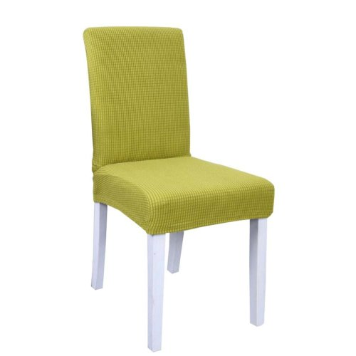 Spandex Fabric Stretch Dining Room Chair Slipcover - The Chair is not Included - 37