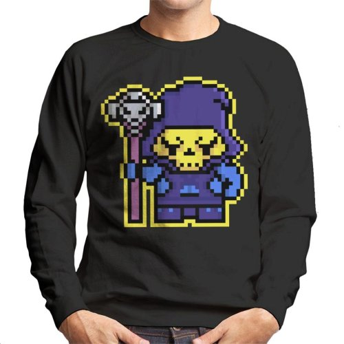 Pixel Skeletor Men's Sweatshirt