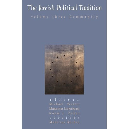 The Jewish Political Tradition