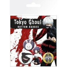 Tokyo Ghoul Mix Badge Pack
