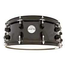 Mapex MPX 13 x 6 Black Maple Snare drum with black fittings