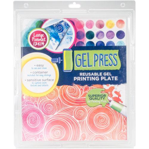 "Gel Press Gel Plate 12""X14""-"