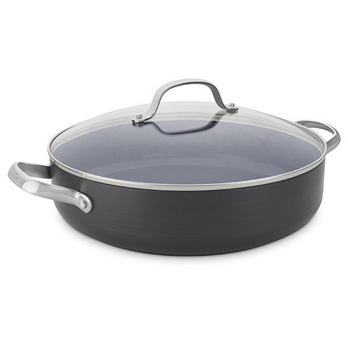 30cm Shallow Casserole with Lid 4.8L