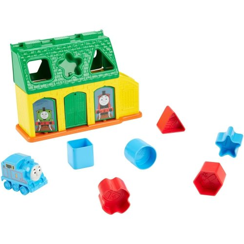 Fisher-Price CDN12 My First Thomas and Friends Tidmouth Shape Sorter