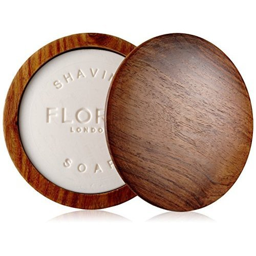 Floris London No.89 Shaving Soap In A Wooden Bowl, 3.4 oz.