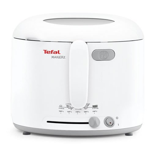 Tefal Maxi Fry Fryer Automatic Lid Opening 1600W - White (Model No. FF123140)