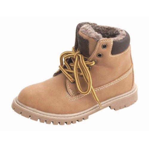 Buckle My Shoe - Boys Smart Tan Boots