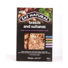 Eat Natural - Crunchy Breakfast With Brazil & Sultanas
