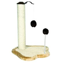 Trixie 4295 Scratching Post With Toys 50cm Beige / Brown - x Kratzpfote Trunk -  x trixie kratzpfote trunk 41 38 50 cm new