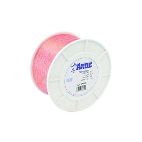 Ande Premium Monofilament - 1 lb. Spool - 50lb. Test - Pink