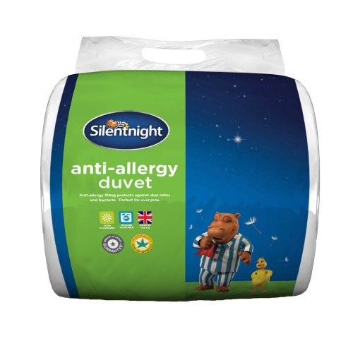 Silentnight Anti-Allergy 10.5 Tog Duvet, Single