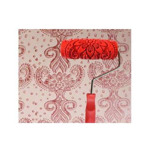 Classical Embossed Paint Roller Wall Painting Runner Wall DIY Tool, Pattern 12