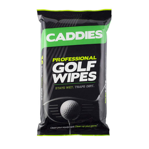 Caddies Professional Golf Gripes Grip Cleaning Wipes Pack of 36