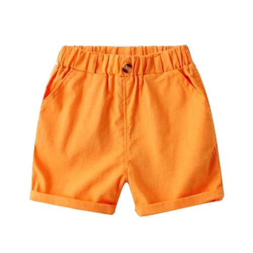 Baby Boy Short Pants Cute Short Pants for Summer Suitable for 100cm [C]