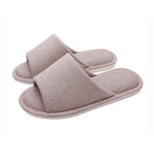 (Made By Cotton)Skidproof The Simple Style Of Home Slippers(Striped)