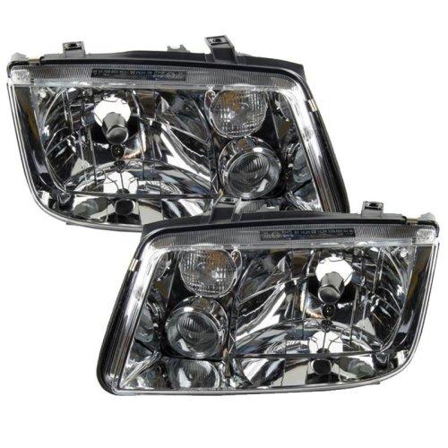 Volkswagen Bora 1999-2005 Headlights Headlamps 1 Pair O/s & N/s
