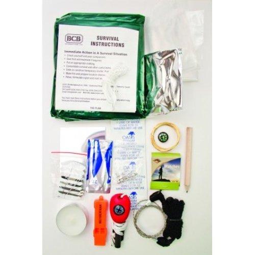 BCB CK050 SURVIVAL KIT IN WATERPROOF DRY BAG