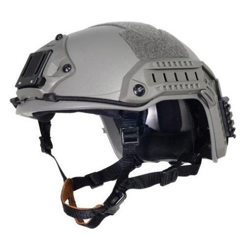 Airsoft Ops Core Green Od Fg Swat  Maritime Fma Abs Helmet Jump Rail M/L