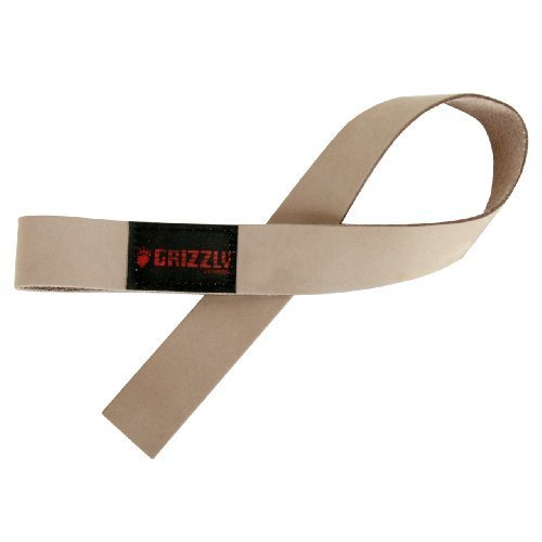 Grizzly Fitness Leather Lifting Straps