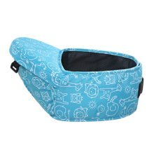 Baby Carrier Single Waist Stool Seat Carrier,oxford fabric Baby Carrier Blue