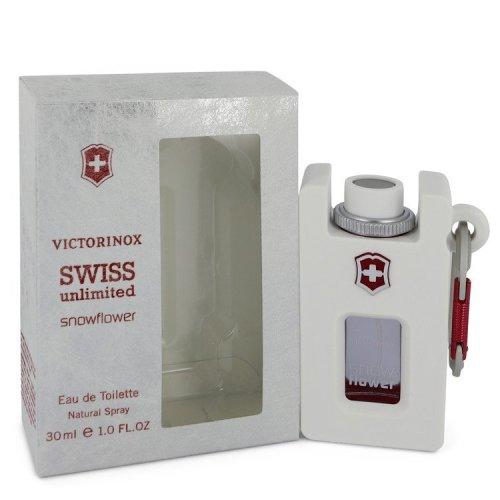 Swiss Unlimited Snowflower by Victorinox Eau De Toilette Spray 1 oz