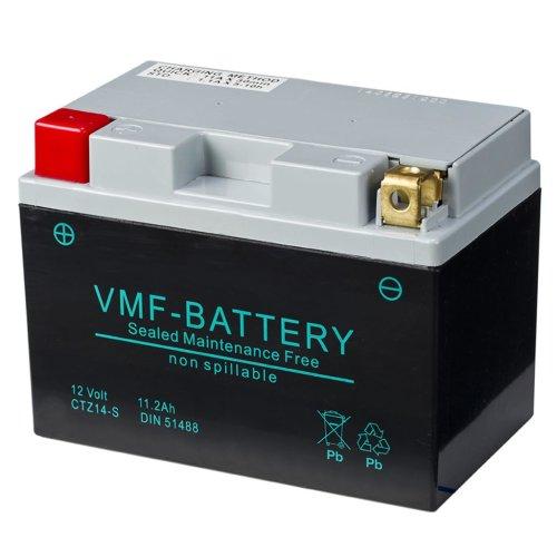 VMF Powersport AGM Battery 12 V 11.2 Ah FA YTZ14-S 150 x 87 x 110 mm Safe