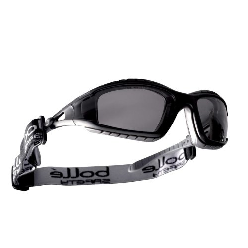 Bolle TRACKER TRACPSF Safety Glasses Spectacles Goggles Smoke Lens