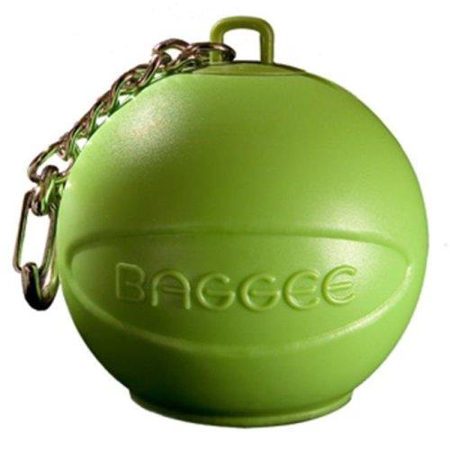 Baggee Plastic Bag Holder Keyring - Green