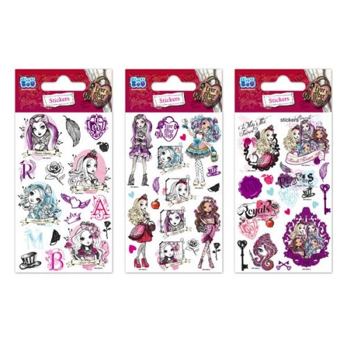1 x Quality Sticker Sheets | EVER AFTER HIGH GLITTER | Party Bags & Decoration