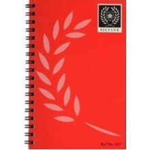 Silvine Twin Wire Spiral Notebook Feint 30 Sheets - Pack Of 24 -