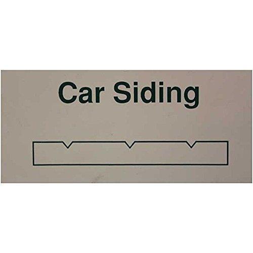Evergreen Scale Models O Passenger Car Siding