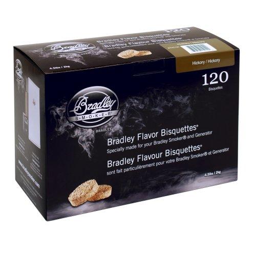 Bradley Smoker Hickory 120 Pack