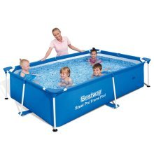 Bestway Steel Pro Rectangular Swimming Pool 239x150x58cm 56402