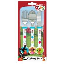 Bing 3pc Cutlery Set - 3 Knife Fork Spoon -  set cutlery bing 3 knife fork spoon