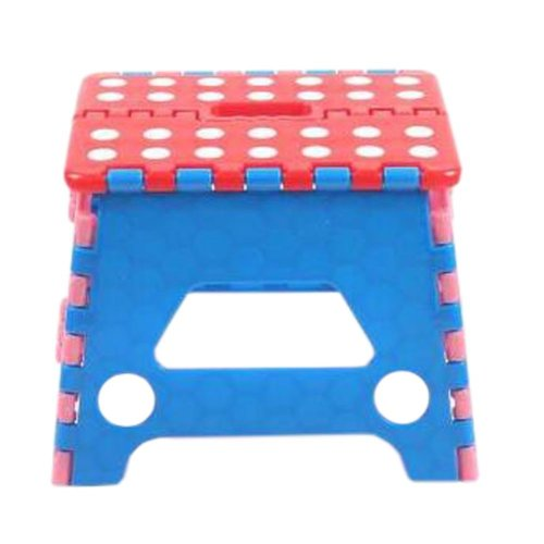 Creative Plastic Foldable Step Stool Portable Folding Stools Stepstool for Kids & Adults, No.3