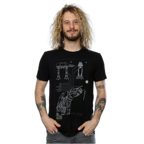 Star Wars Men's Rogue One AT-ACT T-Shirt