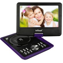 ieGeek 11'' Portable DVD Player with 5 Hour Rechargeable Battery