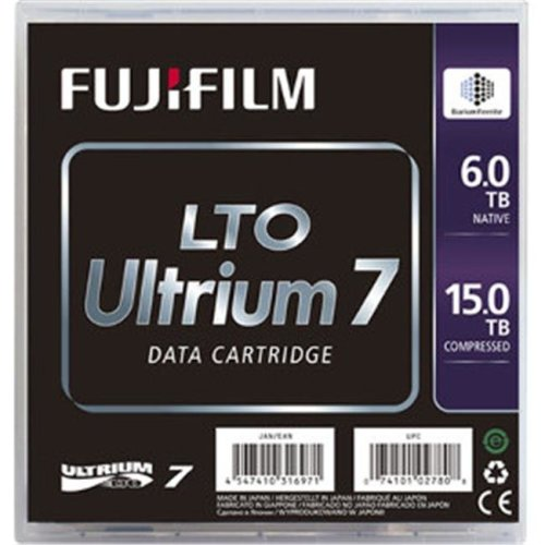 Fuji 16456574 Ultrium LTO 7 - Native 6TB Compressed 15TB Barium Ferrite