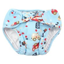 Reusable Swim Diaper Adjustable Absorbent Shower Diapers for Baby Toddler, A02