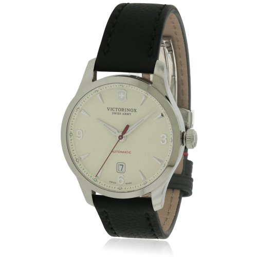 Victorinox Swiss Army Alliance Mechanical Watch | Leather Strap Watch