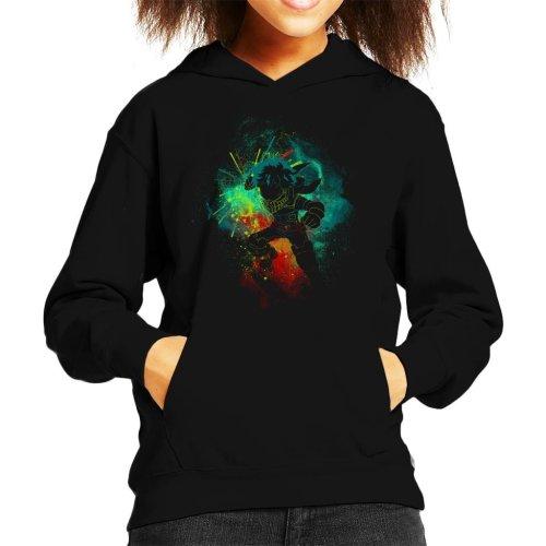 Deku Silhouette My Hero Academia Kid's Hooded Sweatshirt