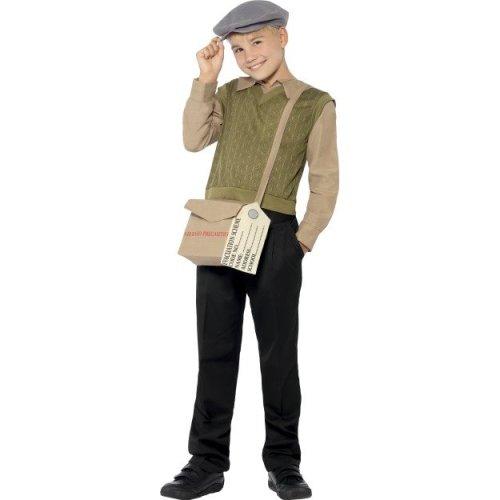 (Large) Kids Evacuee Boy Costume Kit