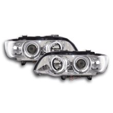 headlight BMW X5 E53 Year 98-02 chrome