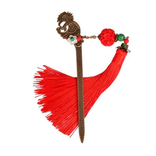 Classical Retro Hair Decor Elegant Traditional Hair Clip With Tassels,Hair Accessories#W