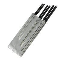 Modelcraft 1.2 - 3.0mm Cutting Broach Set, Silver -  modelcraft 12 30mm cutting broach set silver