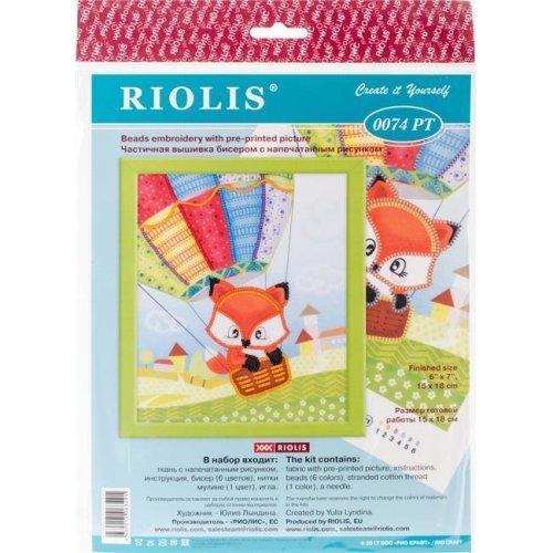 Riolis R0074PT Little Fox Stamped Cross Stitch