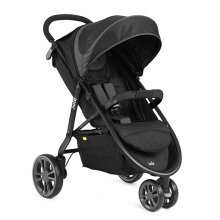 Joie Litetrax 3 Wheel Stroller in Midnight