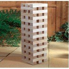 Redwood Leisure Bb-Og170 Giant Wooden Jenga Tower Game