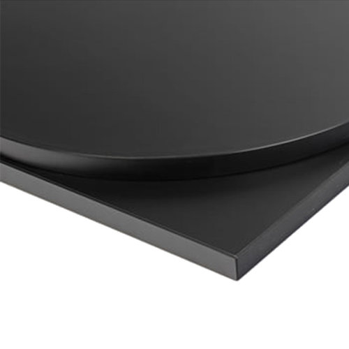 Taybon Laminate Table Top - Black Square - 900x900mm
